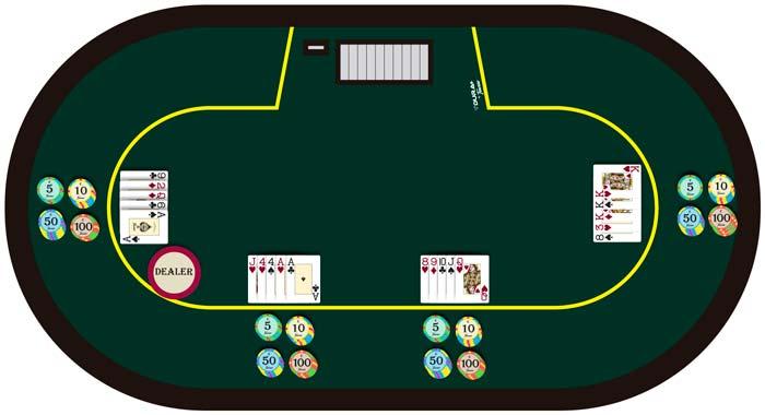 Poker jugada