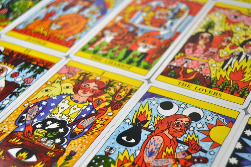 Cartas Tarot Fournier