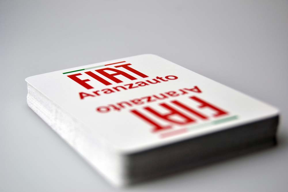 Promotional poker deck